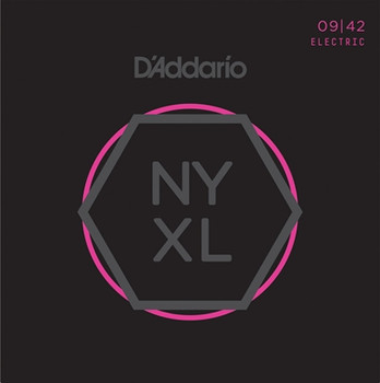 D'Addario NYXL Electric Guitar Strings 9-42 Nickel Wound