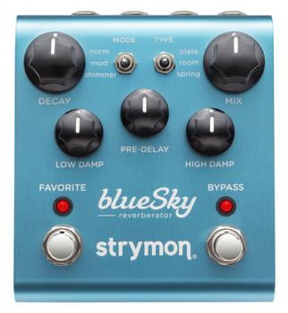 Strymon Bsk BlueSky Reverberator Guitar Reverb Pedal