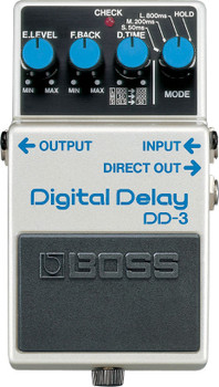 Boss DD‑3 Digital Delay Guitar Effect Pedal