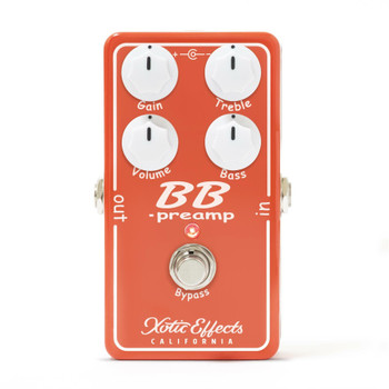 Xotic BB Preamp Boost Effect Pedal V1.5