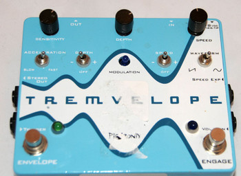 Pigtronix Tremvelope Envelope Modified Tremolo Pedal