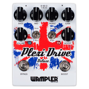 Wampler Plexi Drive Deluxe Guitar Overdrive Effect Pedal