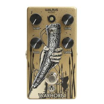 Walrus Warhorn Mid Range Overdrive Effect Pedal