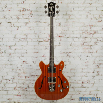 Guild Starfire II Electric Bass Natural 3792410850 MSRP $1,800
