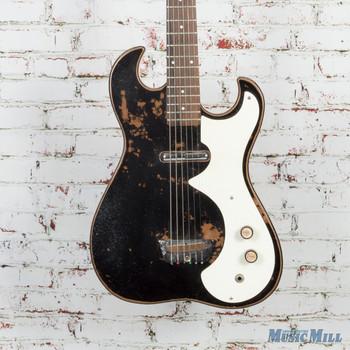 SILVERTONE 1448 GUITAR WITH AMP CASE (1448GUITARAMPCE )