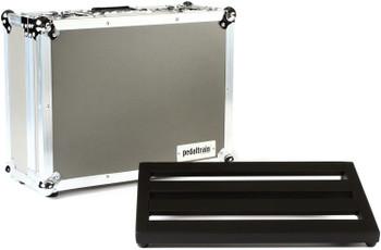 "Pedaltrain Classic Jr TC 18""x12.5"" Pedalboard with Tour Case"