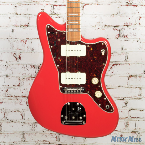 Fender Limited Edition 60th Anniversary Classic Jazzmaster Electric Guitar Fiesta Red