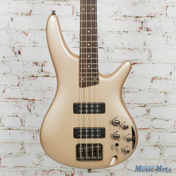 Ibanez SR300E Electric Bass Guitar Champagne Gold
