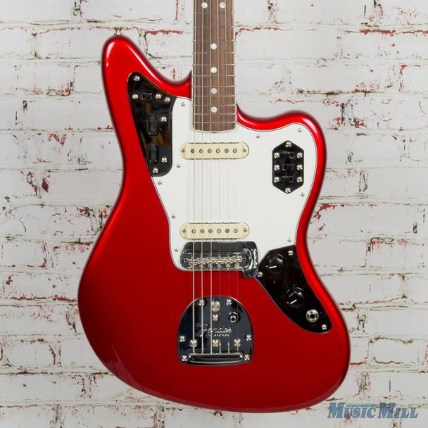 2018 Fender American Original 60s Jaguar RW Candy Apple Red (USED)