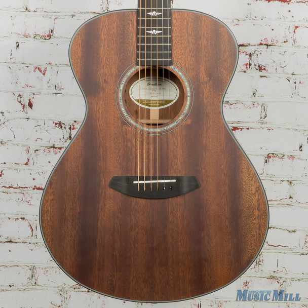 Breedlove Limited Stage Concert E Mahogany Acoustic Electric Guitar Satin Finish 0752