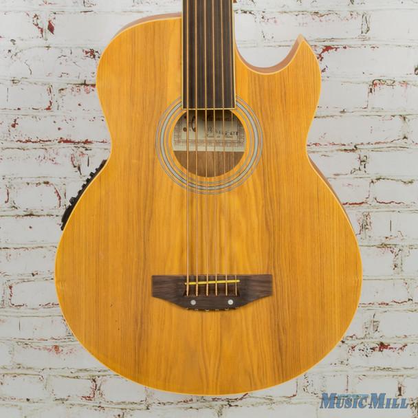 Harmonia 6-String Fretless Acoustic Bass (As-is Lifting Bridge)