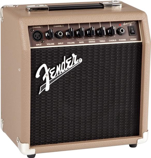 "Fender Acoustasonic 15 - 15-watt 1x6"" Acoustic Combo Amp"