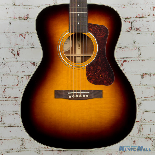Guild OM-140 Acoustic Guitar Sunburst –3842400837-$1,085