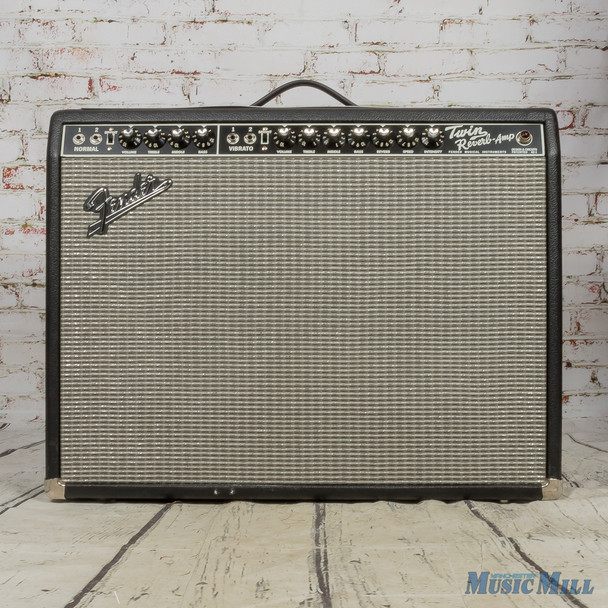 Fender '65 Reissue Twin Reverb Combo Amp w/Cover (USED)