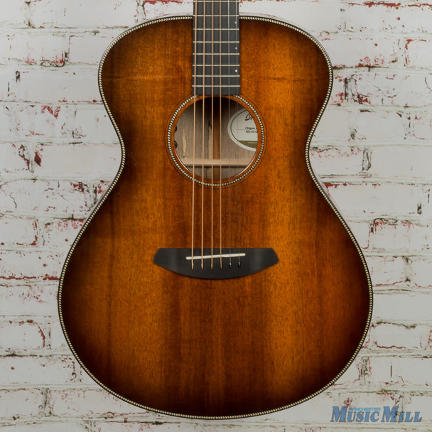 Breedlove Oregon Concert Bourbon E, Myrtlewood