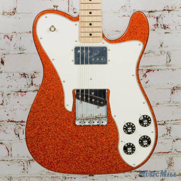 2018 Fender LE 72 Telecaster Custom, Maple Fingerboard, Orange Sparkle