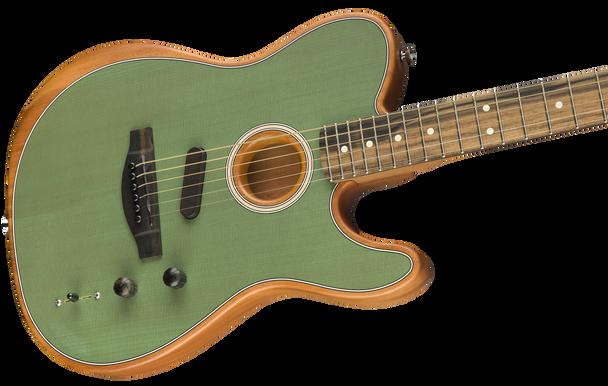 Fender American Acoustasonic Telecaster Surf Green