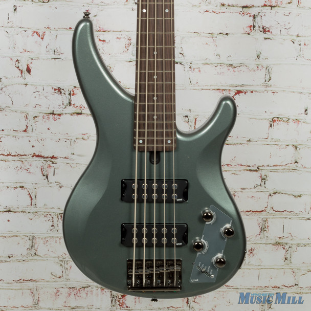 Yamaha TRBX305 5 String Electric Bass- Mist Green