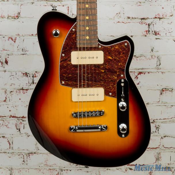Reverend Charger 290 Electric Guitar 3-Tone Sunburst