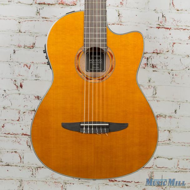 B-Stock Yamaha NCX700C Acoustic-Electric Nylon Classical Guitar Natural