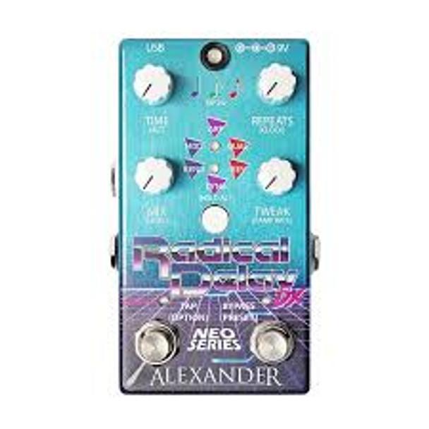 Alexander Radical Delay DX Neo Dual Delay