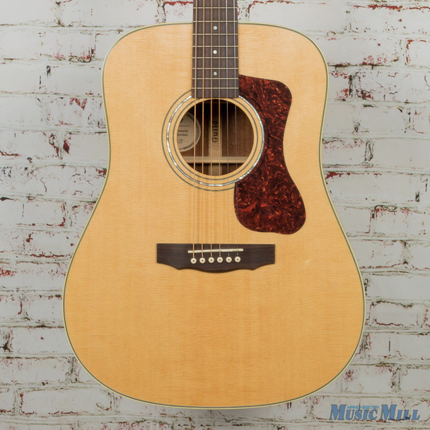 Guild D-140 Acoustic Guitar Natural MSRP $1,045