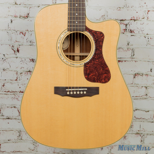 Guild D-140CE Acoustic Electric Guitar Natural MSRP $1,085