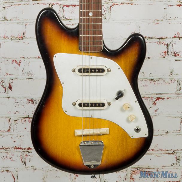 60's MIJ Kent Polaris II Solidbody Electric Guitar Sunburst (USED)