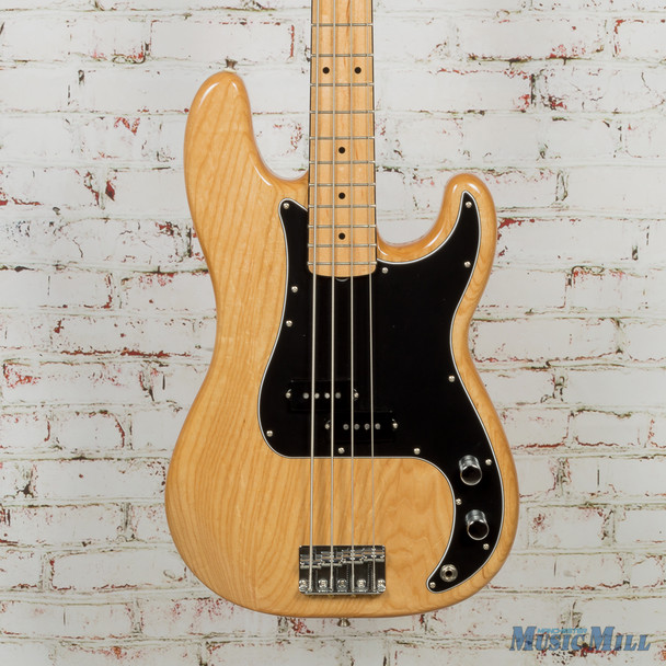 2017 Fender FSR Limited Edition 70's P-Bass Ash Natural (USED)