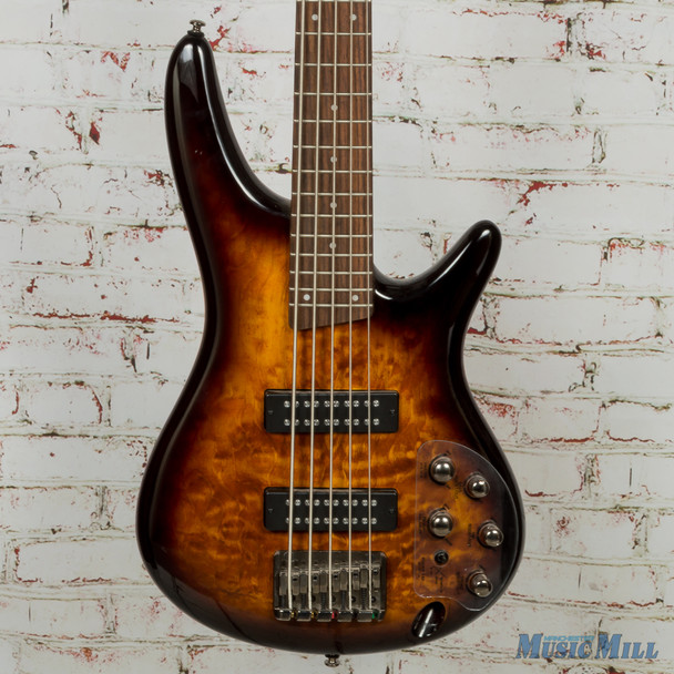 Ibanez SR405E SR Standard 5-String - Dragon Eye Burst