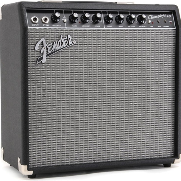 New Fender Champion 40 Guitar Combo Amplifier