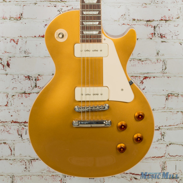 2018 Gibson Les Paul Classic Goldtop P-90's w/OHSC (USED)