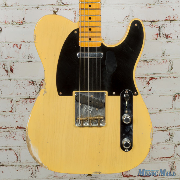 2016/17 Fender NAMM '51 Relic Nocaster Faded Tele Blonde w/ OHSC (USED)