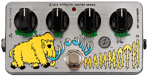 Zvex Vexter Woolly Mammoth Fuzz Bass/Guitar Effect Pedal