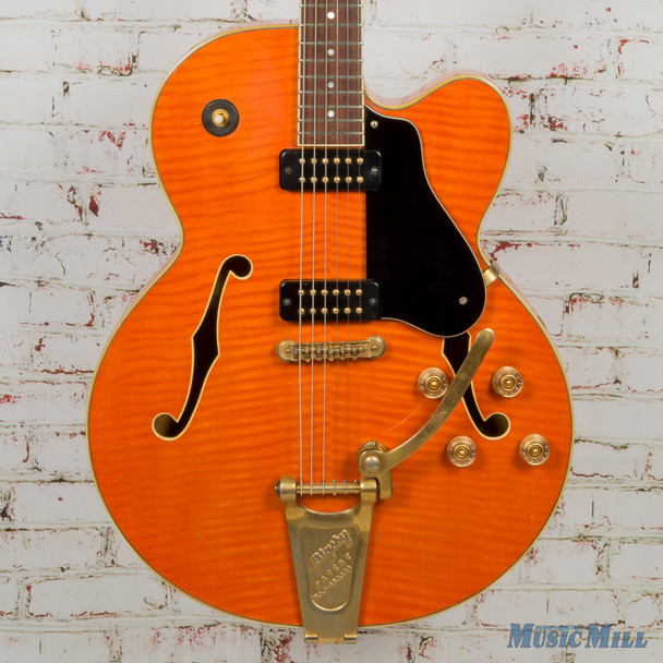 Yamaha AES1500 Semi-Hollowbody Electric Guitar Orange Flame (USED)