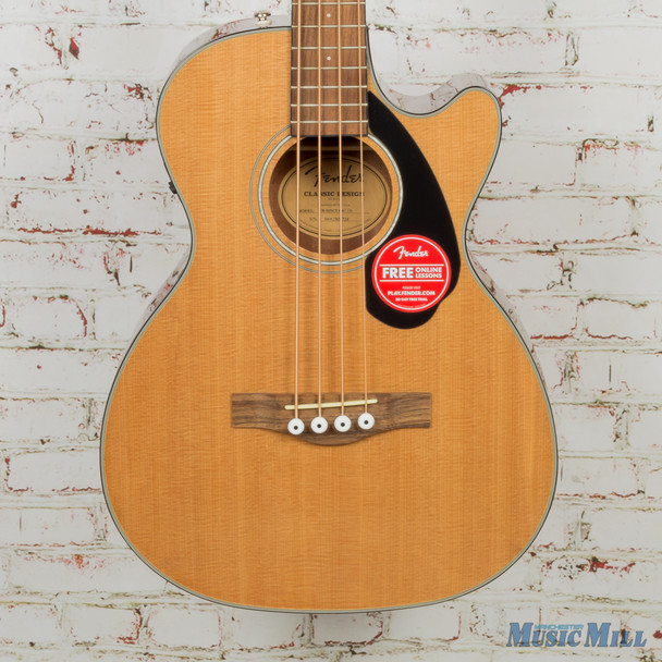 Fender CB-60SCE Acoustic Bass Natural x1724 (USED)