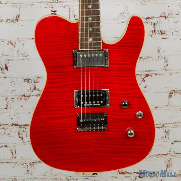 2006 Fender FMT Telecaster HH Crimson Red Transparent (USED)