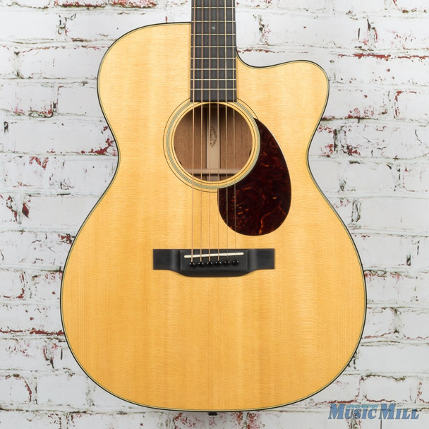 2015 Martin OMC-18E Acoustic Electric Guitar Natural (USED)