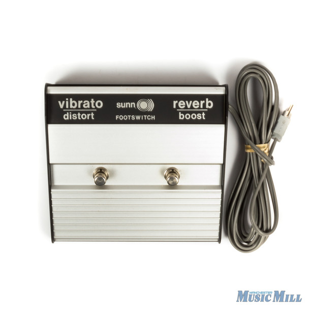 Sunn Footswitch Reverb & Vibrato (USED)