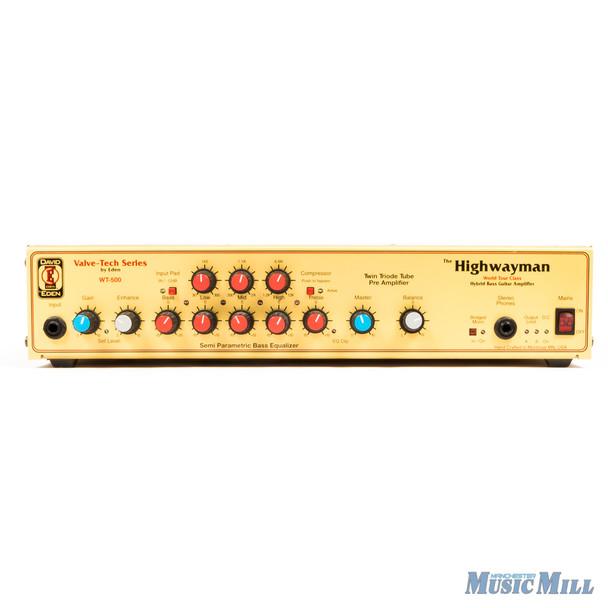 Eden WT-500 The Highwayman Bass Amplifier Head (USED)