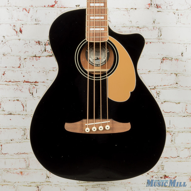 Fender Kingman Bass V2 - Black with Walnut Fingerboard (USED)
