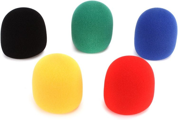 On-Stage Stands ASWS58C5 Windscreen 5-pack - Multicolor