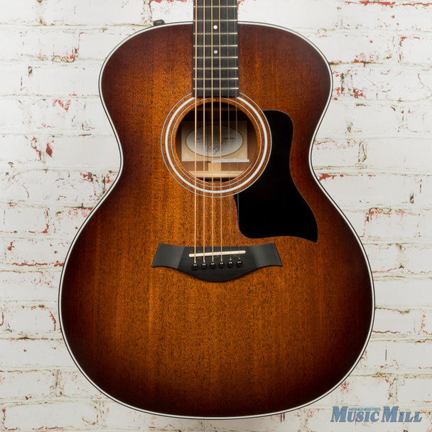 2015 Taylor 324e Acoustic Electric Guitar Shaded Edgeburst (USED)
