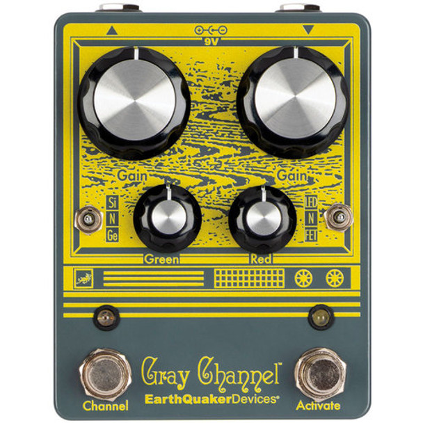 EarthQuaker Devices Gray Channel Overdrive Pedal v1