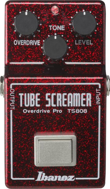 Ibanez TS808 40th Anniversary Tube Screamer Overdrive Pedal