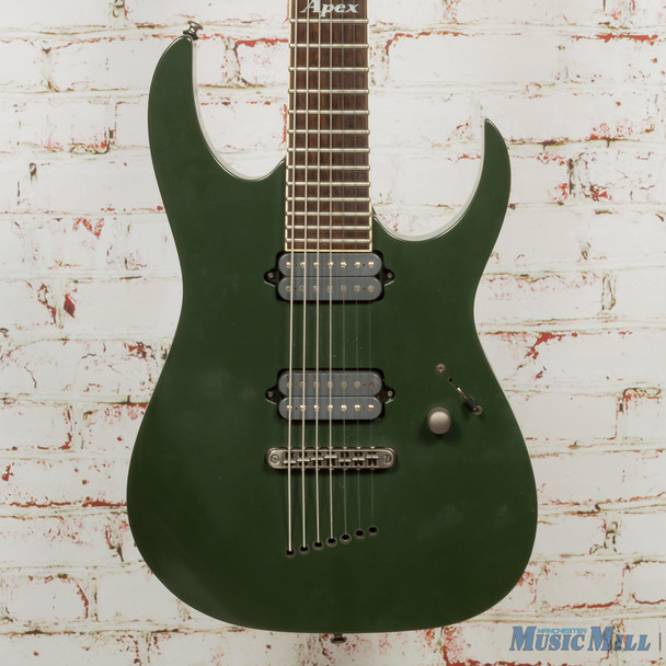 Ibanez APEX2 Electric Guitar Green Shadow Flat (USED)