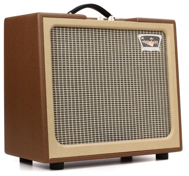 """Tone King Gremlin 5-watt 1x12"""" Tube Combo with Attenuator - Brown and Beige"""