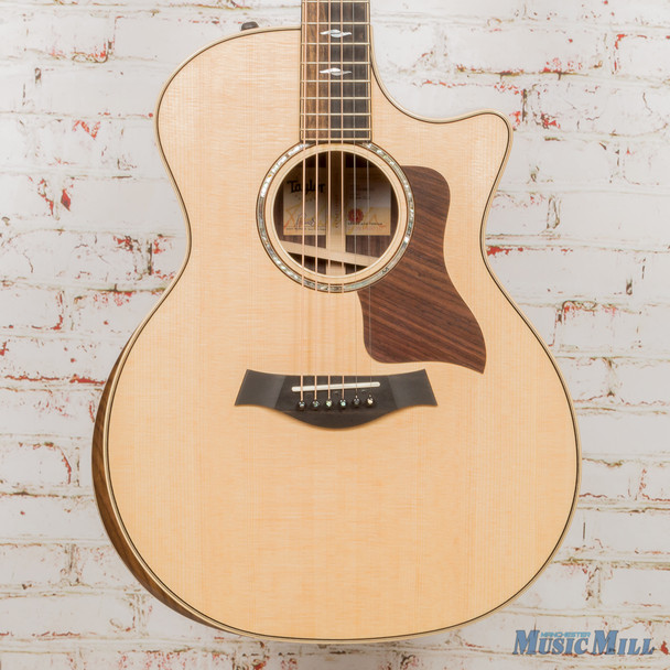Taylor 814ce Deluxe V-Class - Natural Sitka Spruce Top Guitar x9010