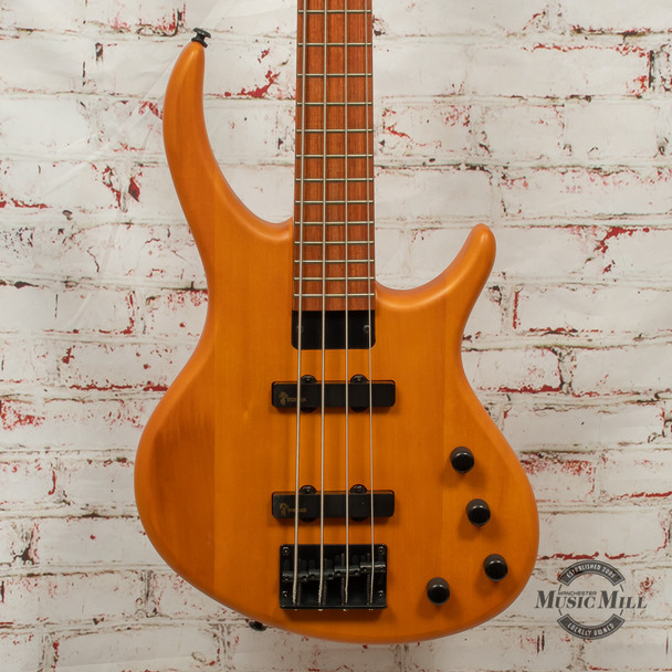 Epiphone Tobias Toby Deluxe-IV Bass Guitar Transparent Amber x4947