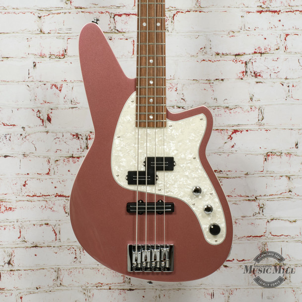 Reverend Decision P Bass Electric Bass Mulberry Mist x0395